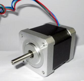 热卖现货厂家直销 低温升NEMA17 42mm两相混合式微型小步进电机