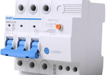 正泰电器 漏电保护器NBE7LE 3P 32A 带漏电保护器 小型空气开关