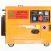 Top-bon 5KW三相静音380V柴油发电机组 轻携式移动小型柴油发电机