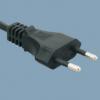 电线插头厂家欧标挪威AC电源线插头2.5A插头H03VVH2-F 0.5平方