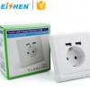 双USB德式德标电源插座 欧式 欧规 欧标墙壁插座面板跨境电商专供