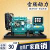 厂家直销 30千瓦柴油发电机组 纯铜 无刷 潍坊柴油发电机组