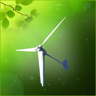 5000w民用微型风力发电机 草原用风力发电机组 工厂风力发电机