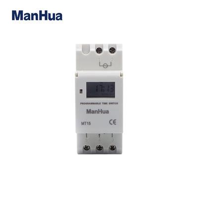 电池可充电 30A 220-240VAC MT15 数显时控开关