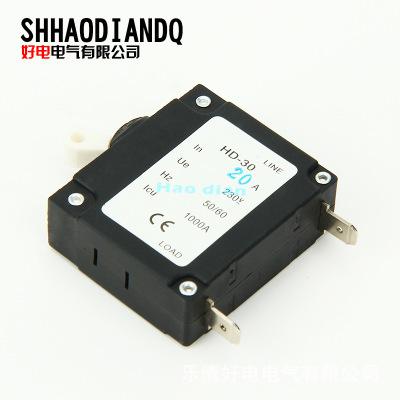 好电电气 低压断路器 漏电保护 塑壳断路器HD-30