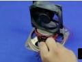 如何用国产磁铁和直流电机制作自由能灯泡发电机 (5播放)