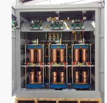 三相全自动补偿式电力稳压器SBW-F-800KVA 包运包安装