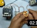 行程开关有2组触点, 自锁线路怎么接线? (10播放)