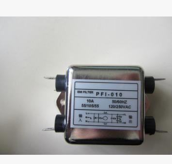 萨顿斯PFI单相滤波器220V/380V单相双级EMI抗干扰端子台净化器