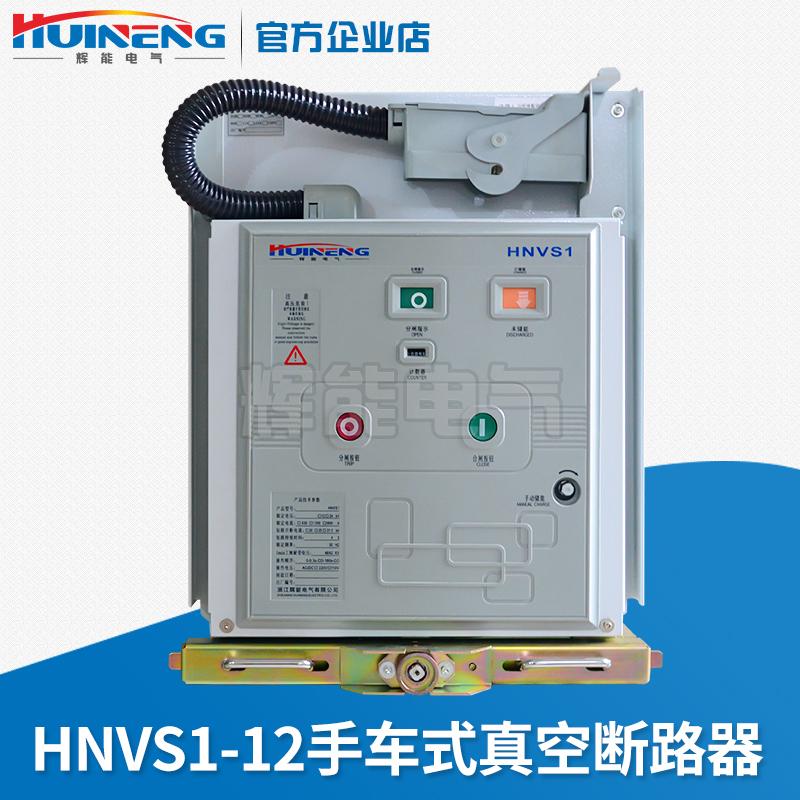 供应辉能电气HNVS1-12小型化650型户内高压真空断路器