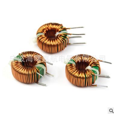 宁波嘉航厂家直销带共底座共模环型环形电感H25X15X10 6MH 环保