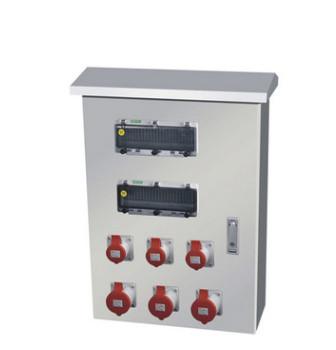 防水防尘插座箱 工业插座箱 定制不锈钢插座箱