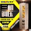 厂家直销三相20KW接触式自藕调压器TSGC2-20KVA输出0-430V可调