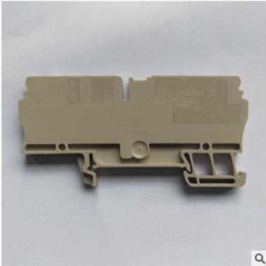 魏德米勒直通型接线端子 弹片蓝色 两进两出2.5平方 ZDU2.5/4AN
