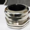 防水金属电缆接头M72*2.0黄铜镀镍葛兰头密封不锈钢公制电缆固定