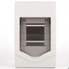 明装暗装通用 空调2-3位空气开关防水盒配电箱 2P空开盒 二三回路