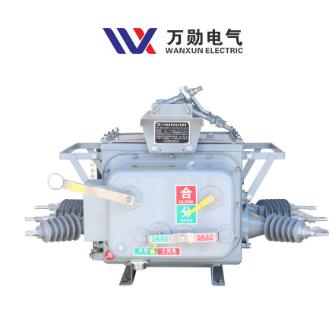 工厂直供 ZW20-12/630A高压真空断路器10KV手动柱上分界真空开关