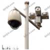 小区学校监控架 SFYB-LKG-94-15 铝合金监控器支架5m 可定制