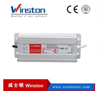 LPV-60W 12V 24V单组输出防水电源