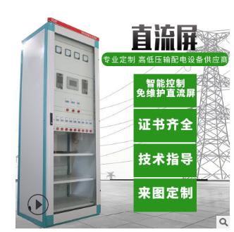 双面立式直流电源屏系统 高层建筑配电用直流电源屏 可定制