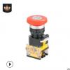 跨境批发紧急钮LAK39C-11Z常开常闭按压锁定工业机器紧急按钮开关