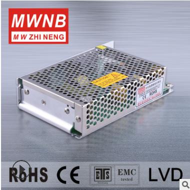 铭纬50W24V2.1A单组S-50-24开关稳压直流电源 MWNB