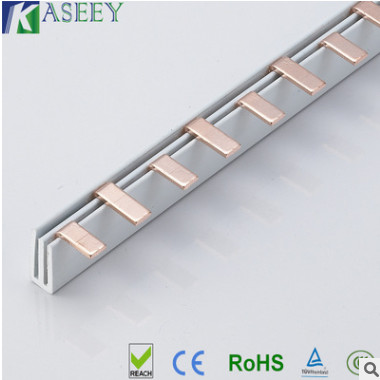 凯胜电气汇流排 连接断路器汇流排 C45汇流排 紫铜汇流排 100A-2P