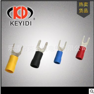 KED 冷压接线端头 SV1.25-4S 紫铜0.7厚1000个 厂家直销