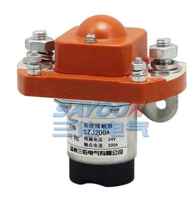 大量现货 直流接触器SZJ200A 旅游车 电动车控制器配件 断电 12V