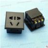 供应新国标多功能AC电源插座五孔,设备仪器交流插模块卡式ac母座