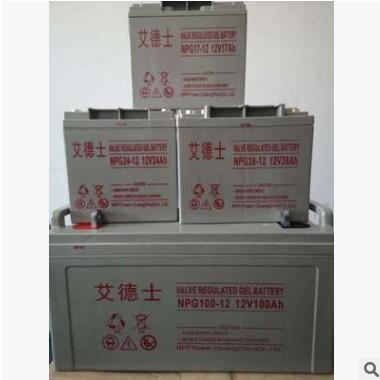 促销艾德士免维护铅酸蓄电池NPG100-12 UPS专用蓄电池