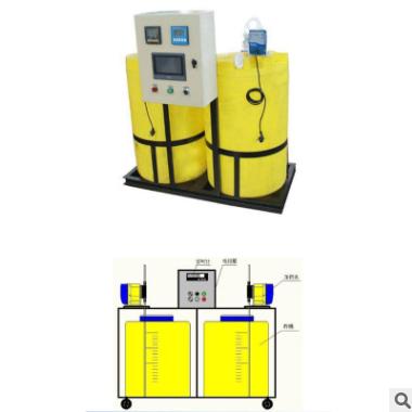 厂家直销自动加药装置全自动加药装置 水处理设备加药装置定制