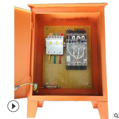 工厂工地三级配电箱成套切割机电焊机等临时用电箱30KW移动箱爆款
