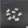 6.3线路板定位插片 方形直插焊片 公插片250PCB焊片两直脚0.8镀锡