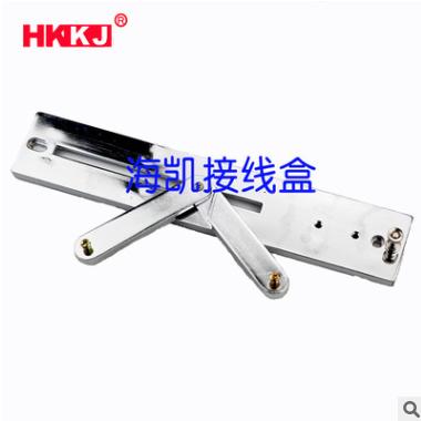 厂家供应270型锌合金电表架 配电箱专用电表支架 三相电表支架