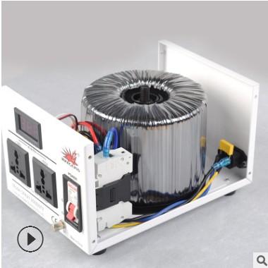 箭猪变压器 220V转100V110V115V120V环形变压器 3000W纯铜变压器