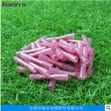 Hanrro牌BHT1红色热缩防水绝缘端子 0.5-1.5mm2, AWG 22-16