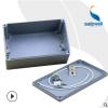 saipwell工业铸铝防水电源盒 户外用188*120*78监控防水电源盒