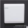 批发生产多规格白色大面板墙壁开关插座86型暗装家用开关