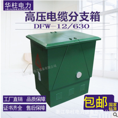 10KV高压电缆分支箱DFW-12/630不锈钢/铁壳一进一二三四五出欧式