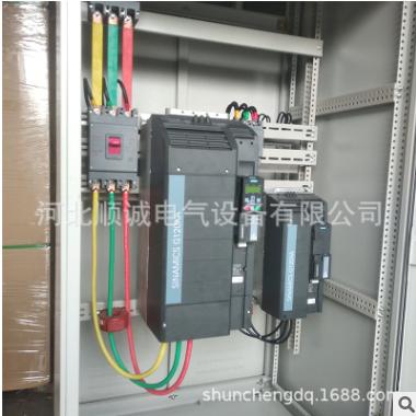 厂家直销除尘控制柜风机132KW西门子变频控制柜支持定制