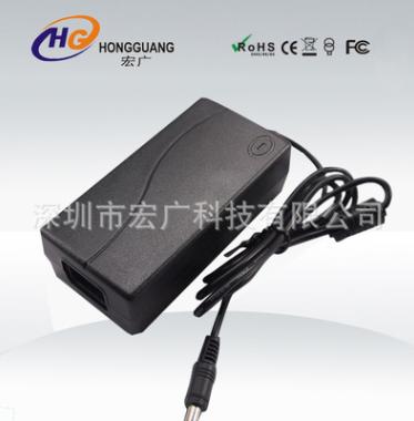 深圳宏广厂家供应液晶显示器等电源12V4A48W桌面式适配器电源