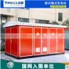 10KV箱变 组合式变压器630KVA户外预装式箱式变电站 欧式箱变美式