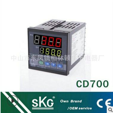 SKG CD700万能输出输入PID智能温度控制器 三相多功能温度控制器
