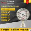 100mm径向卫生型不锈钢隔膜压力真空表 全不锈钢卫生型隔膜压力表