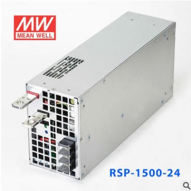 RSP-1500-24 24V63A 单路输出带功率因素校正可并联明纬开关电源