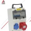 特斯拉汽车专用新能源快速充电桩明装插座家用防水配电箱防爆塑料