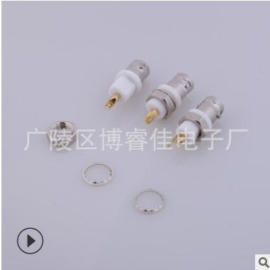 厂家直销射频连接器 BNC直白胶 BNC塑料母头 支持定制生产批发