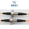 晶沛单模多模光纤滑环高速率大带宽光纤旋转接头
