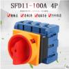 SFD11-100A 4P负载断路万能转换开关旋转电源切断负荷主控旋钮